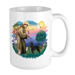 St Francis #2 / PWD (stand) Large Mug