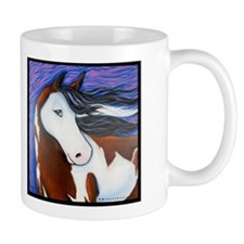 "Paint Horse ""Luna"" Coffee Mug"