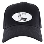 Syrian Fantail Pigeon Black Cap