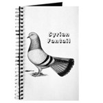 Syrian Fantail Pigeon Journal