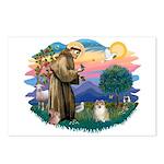 St Francis #2 / Pomeranian (#1) Postcards (Package