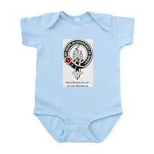 MacDonald Clan Ranald Crest Infant Creeper