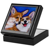 Corgi Pembroke Welsh Keepsake Box