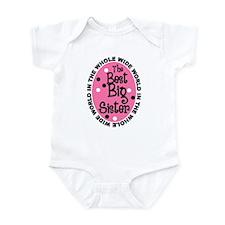 Best Big Sister Infant Bodysuit