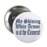 "Armor at the Cleaners 2.25"" Button (10 pack)"