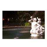 Savannah, Fountain Closeup Postcards (Package of 8