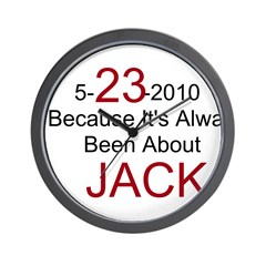 5-23-2010 Always Jack / Wall Clock