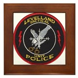 Levelland Police Tactical Framed Tile