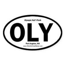 Olympic Oval Decal