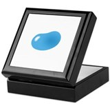 just blue jellybean Keepsake Box