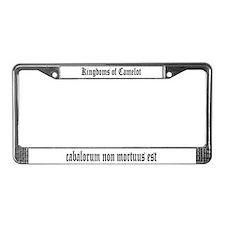 Camelot License Plate Frame