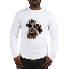 pekingese group Long Sleeve T-Shirt