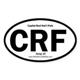 Capitol Reef Oval Decal