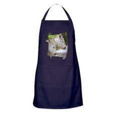 Dozing Donkeys Apron (dark)