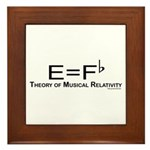 Musicality Framed Tile