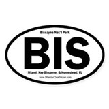 Biscayne Oval Decal