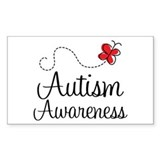 Butterfly Autism Awareness Bumper Stickers