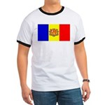 Andorra Andorran Blank Flag Ringer T