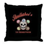 Ice Creamatorium Throw Pillow
