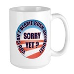 Sorry Yet? Large Mug