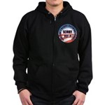 Sorry Yet? Zip Hoodie (dark)