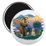 St. Fran #2/ Cocker Spaniel (#10) Magnet