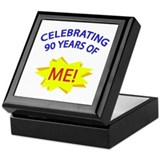 Celebrating 90 Years Of Me! Keepsake Box