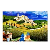 Harvest the Grapes Postcards (Package of 8)