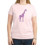 Purple Giraffe T-Shirt