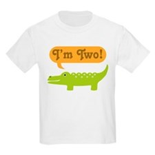 Alligator 2nd Birthday T-Shirt