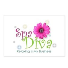 Spa Diva Postcards (Package of 8)