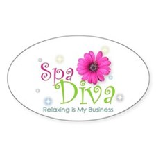 Spa Diva Decal