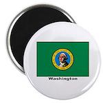 Washington State Flag Magnet