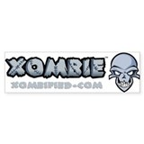 XOMBIE Bumper Sticker