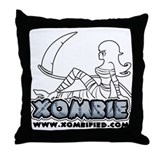 XOMBIE Throw Pillow