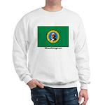 Washington State Flag (Front) Sweatshirt