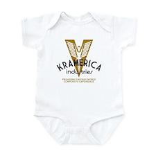Kramerica Industries Faded Infant Bodysuit
