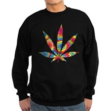 Rainbow Hippie Weed Sweatshirt