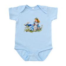 ALICE & THE RABBIT Infant Bodysuit