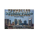 Cute Nashville Rectangle Magnet