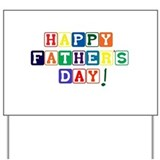 Fathers day Yard Signs