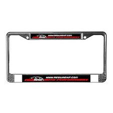 redline License Plate Frame