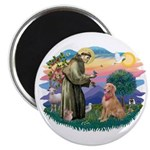 St Francis #2/ Golden Ret (B4) Magnet