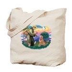 St Francis #2/ Golden Ret (B4) Tote Bag