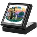 St. Fran #2/ German SH Pointer Keepsake Box