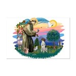 St. Fran #2/ German SH Pointer Mini Poster Print
