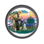 St. Fran #2/ German SH Pointer Wall Clock