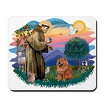 St Francis #2/ Chow (R) Mousepad