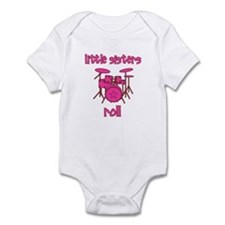 Little Sisters Roll! Drum Onesie