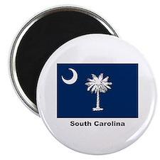 South Carolina State Flag Magnet